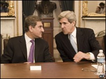 Kerry and Shah Mehmood Qureshi