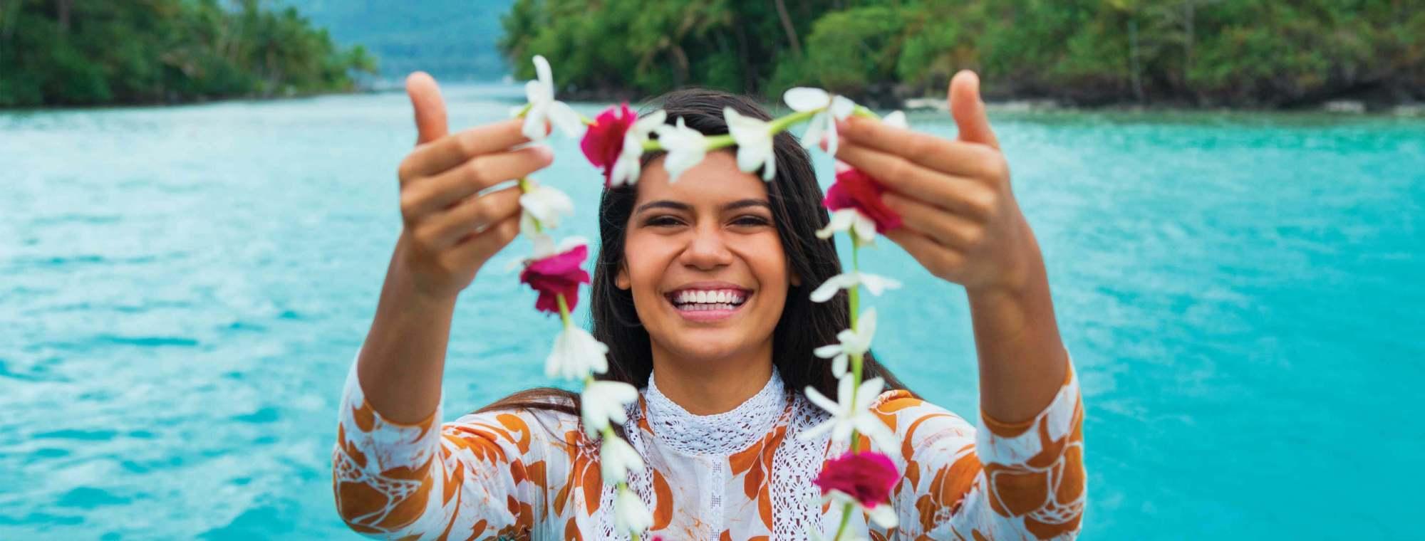 hight resolution of tahiti