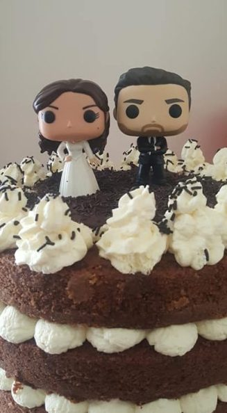 Funko wedding topper