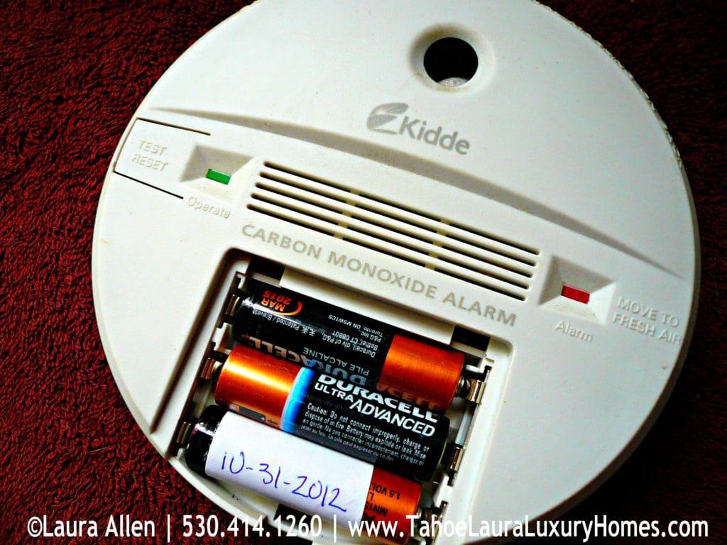 old alarm carbon monoxide detectors