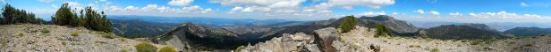 Panorama from Relay Peak, 10,330'