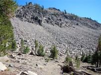 Backside of Rose Knob Peak