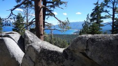 View of SLT from trail