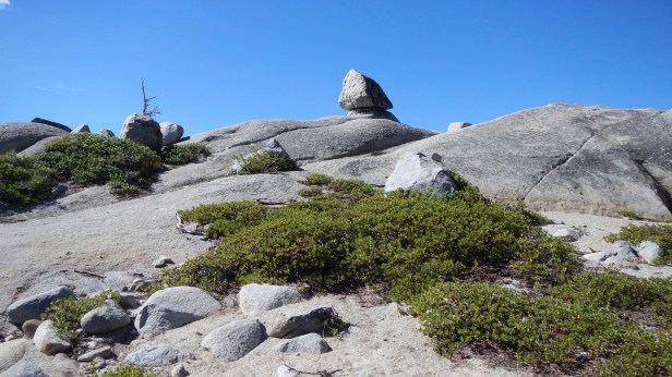 Rock cairn God put there for me to find my way back