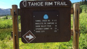 Tahoe Meadows Trailhead