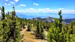 Lake Tahoe from 10,300'