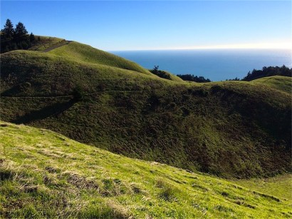 To the southwest, and Coastal Trail