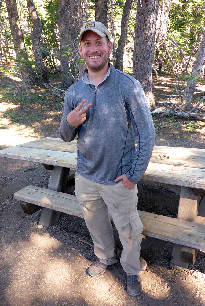 "17-Southern Californian Tahoe Rim Trail Thru-Hiker ""ET"""