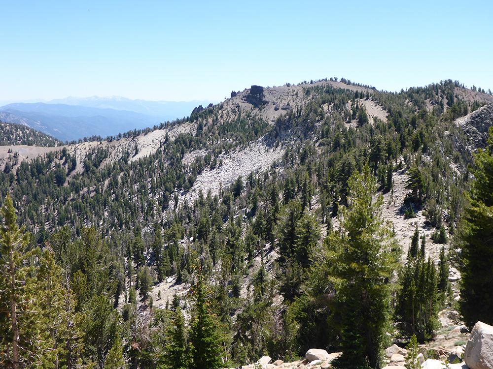 37-Starting to Hike up Relay Peak