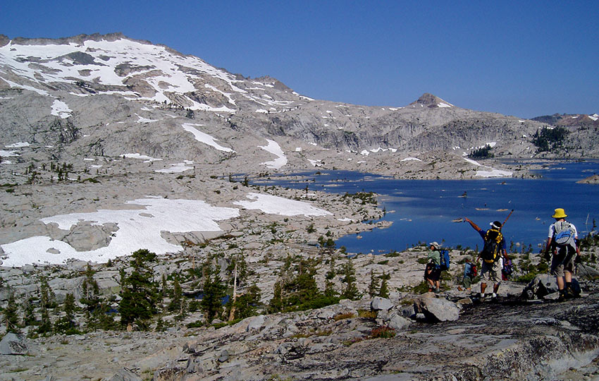 Backpacking in Desolation Wilderness From Echo Lakes to Emerald Bay