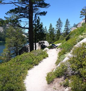 2 - Hiking Alongside Lower Echo Lake