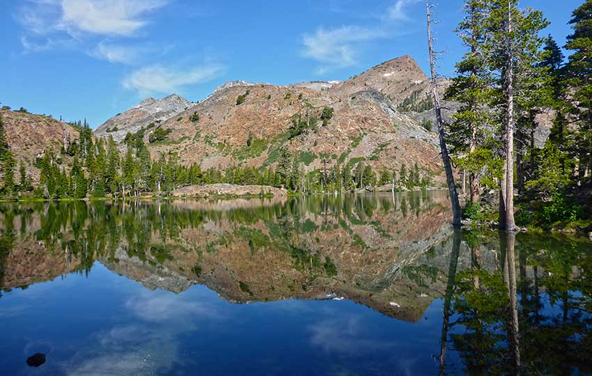 View of Suzie Lake in Desolation Wilderness