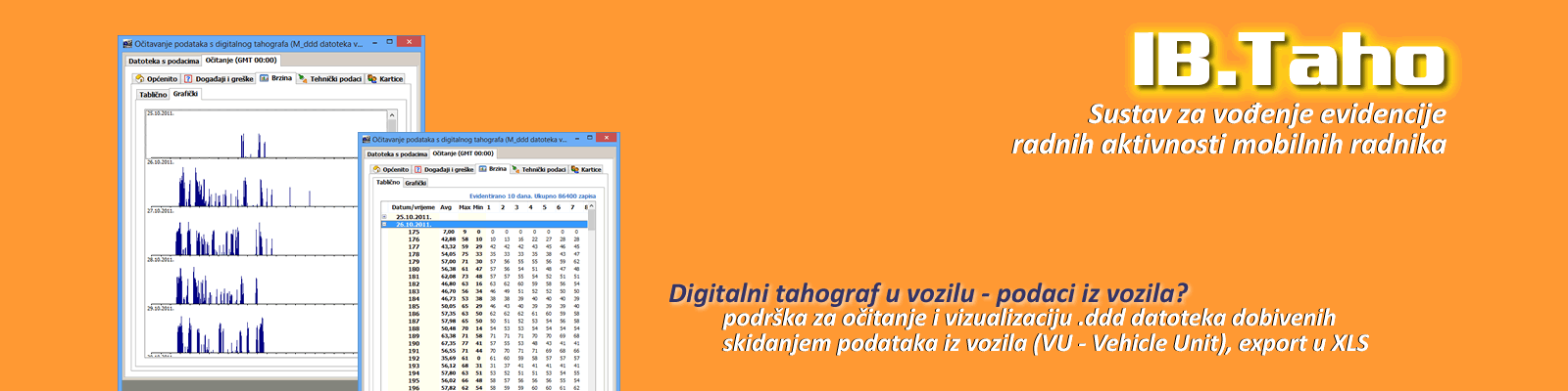 Digitalni tahografi – očitanje uređaja