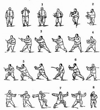Breaking the Tai Chi Long Form into Teachable Segments