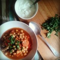 Mâncare marocană de năut