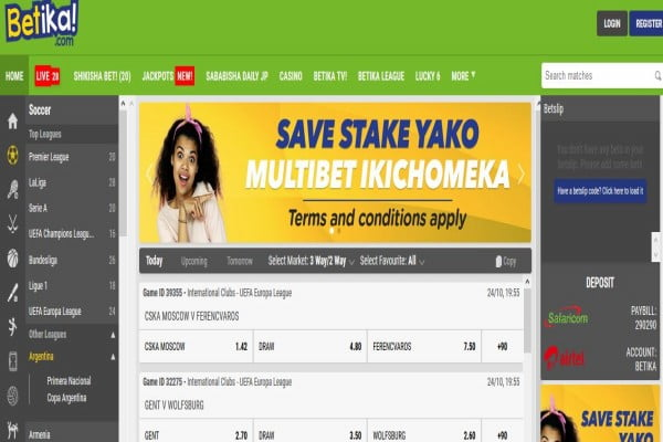Betika Registration, Login, App, Bonus, Jackpot and PayBill Number