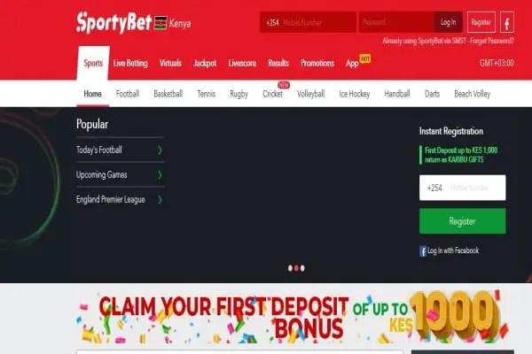 SportyBet Kenya Registration, App, Jackpot, PayBill