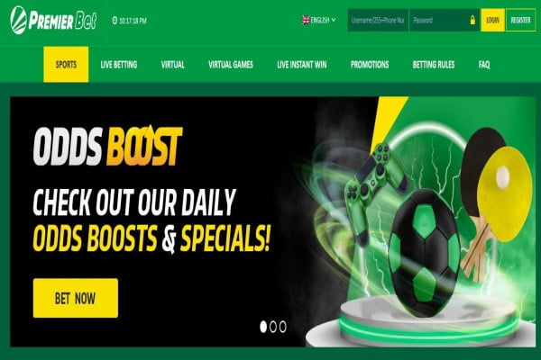Premier Bet Tanzania Registration, Bonuses, App, Contacts,