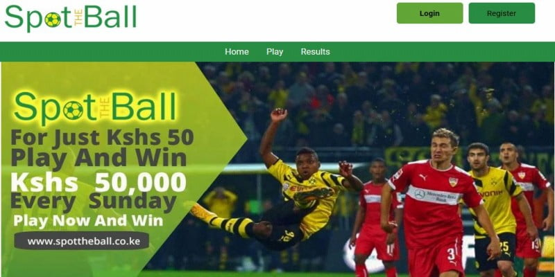SpotTheBall Registration, Login, App, Bonus and PayBill Number