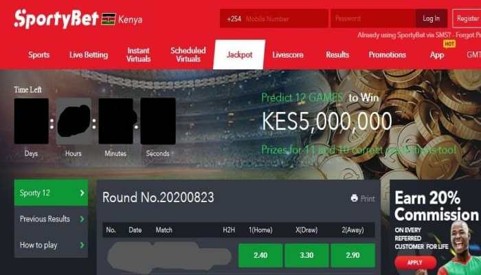 2nd & 3rd November 2019 SportyBet Jackpot Predictions