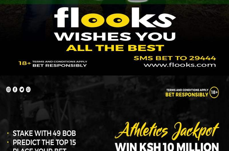 Flooks Betting Company Launches the First-ever Ksh 10,000,000 Athletics Jackpot on the 2020 London Marathon