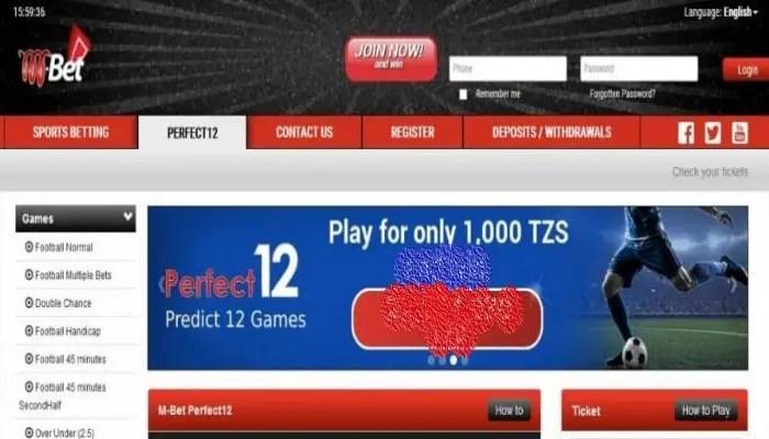 31st  August 2020 MBet Tanzania Jackpot Predictions