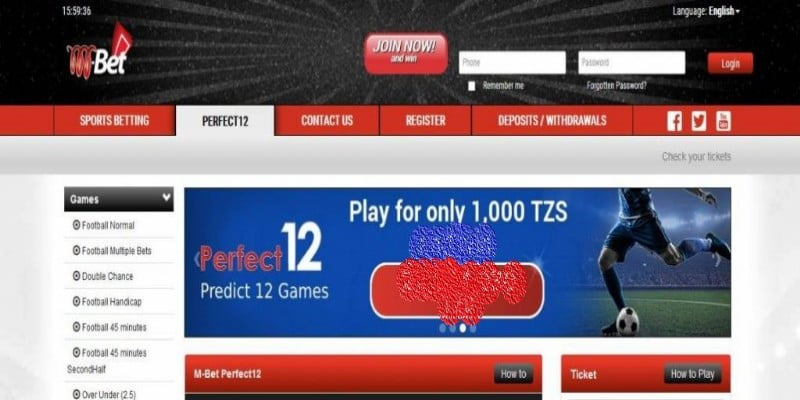 MBet Tanzania Jackpot Prediction
