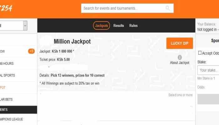 17th & 18th January BET254 Weekend Jackpot Predictions
