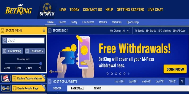 BetKing Kenya PayBill Number; How to Deposit Money into BetKing Kenya Account