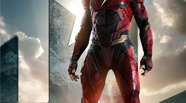 The Flash gets his own character poster and Justice League teaser
