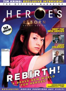 Review – Heroes Reborn: Event Series – The Official Magazine #1