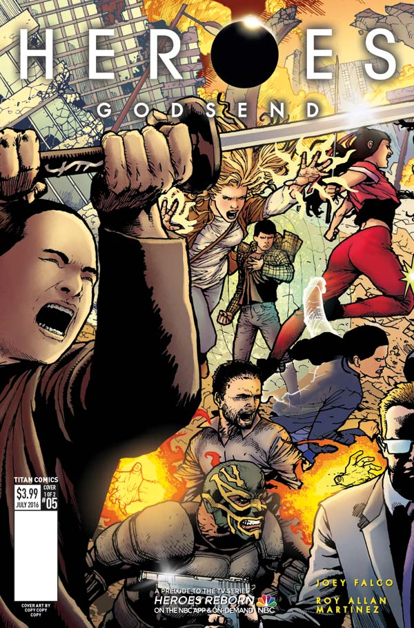 Comic Book Review – Heroes: Godsend #5