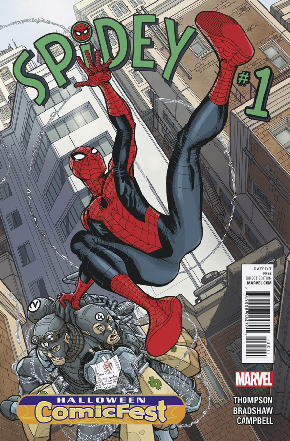 Comic Book Review – Spidey #1 Halloween ComicFest Edition