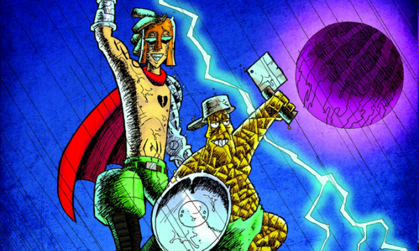 Kickstarter launches for The Adventures of Punk and Rock graphic novel