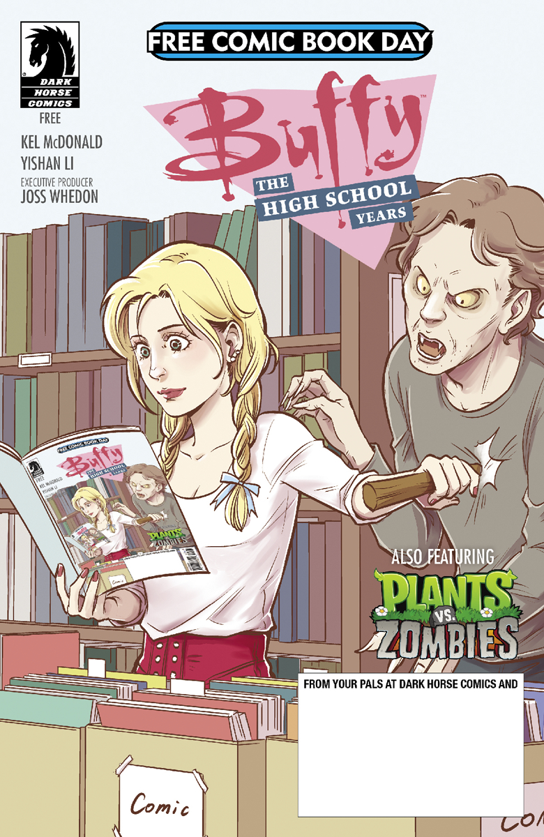 Free Comic Book Day Review – Buffy: The High School Years FCBD 2017
