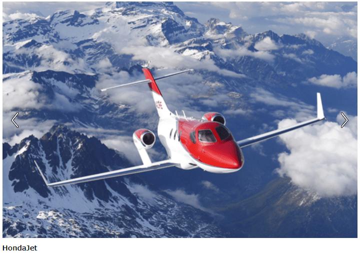 ホンダジェットHA-420が高評価で、納入数首位