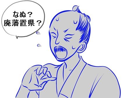廃藩置県に対して藩主や武士の反対は?