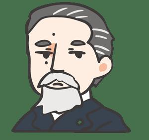 山県有朋と伊藤博文