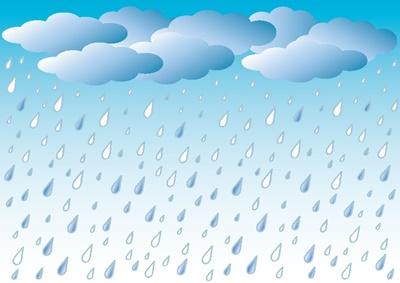 雨の中でのマラソン