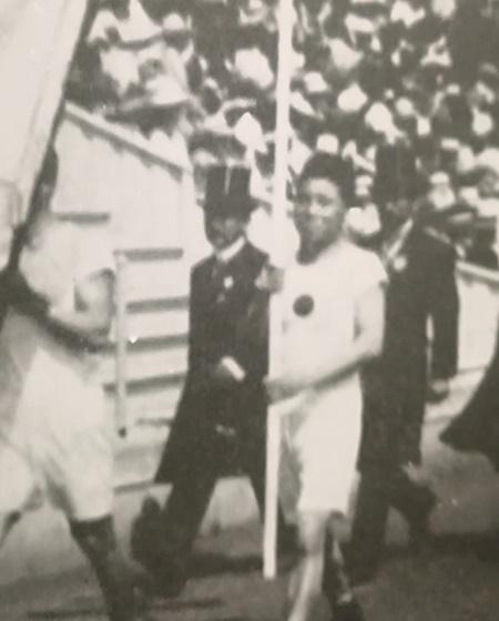 金栗四三オリンピック初出場