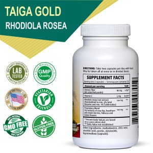 Taiga Gold with Rhodiola rosea