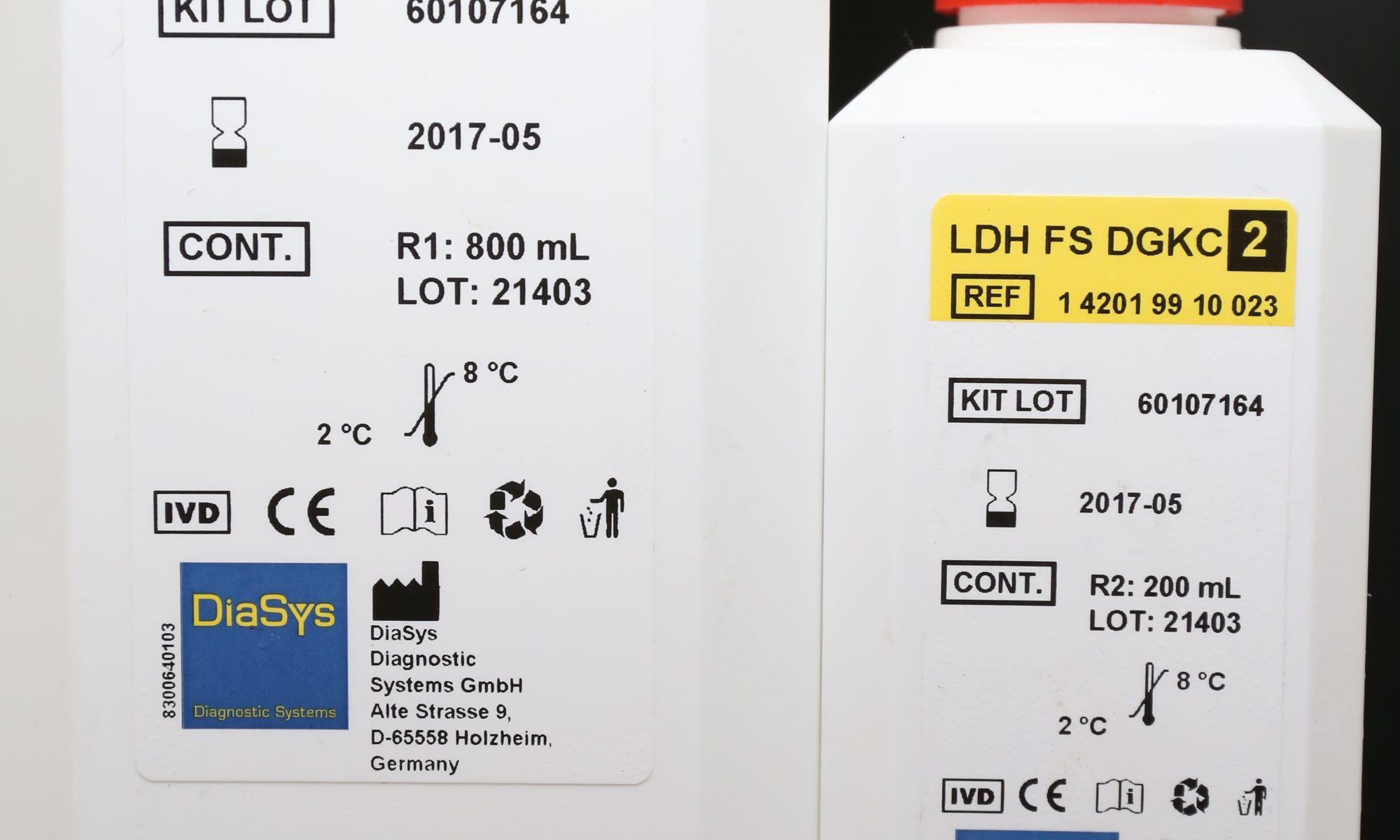 LDH 乳酸脫氫酶液體試劑盒 – 鈦化企業有限公司