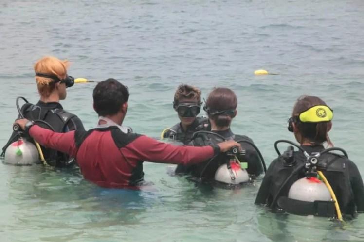 アドバンス、セブ島の観光ライセンス講習