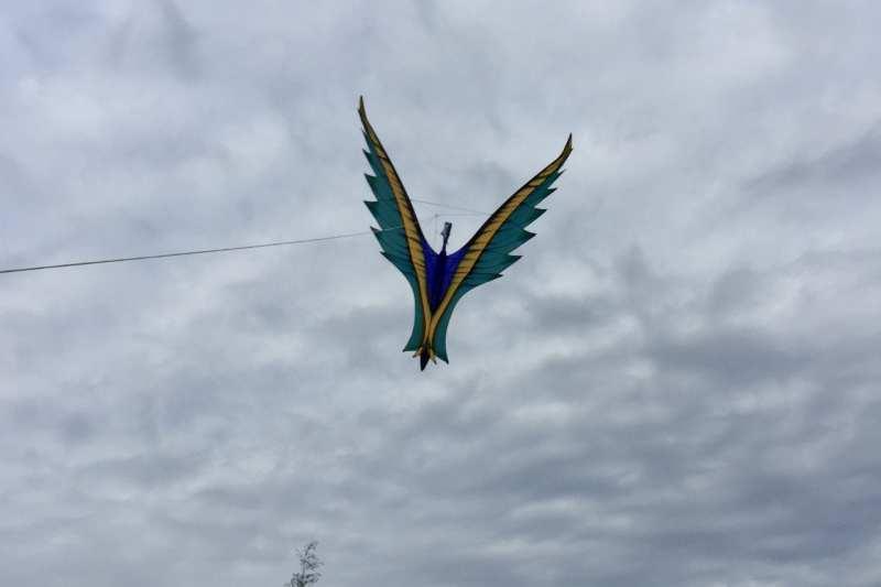 Karl Longbottom's Phoenix Kite