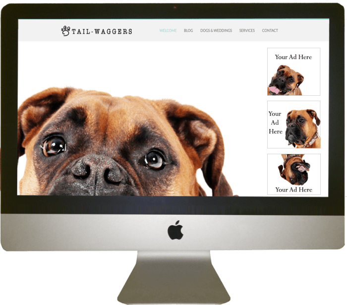 Tail-Waggers Advertise With Us Pet Blogger Toronto
