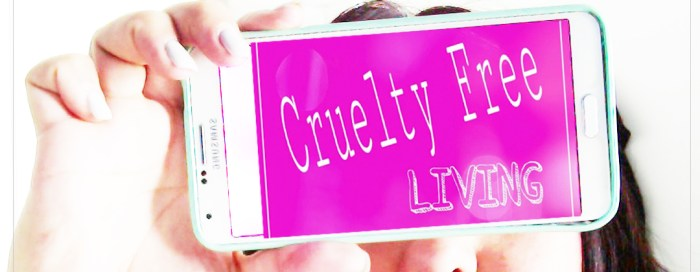 Cruelty Free Living Apps