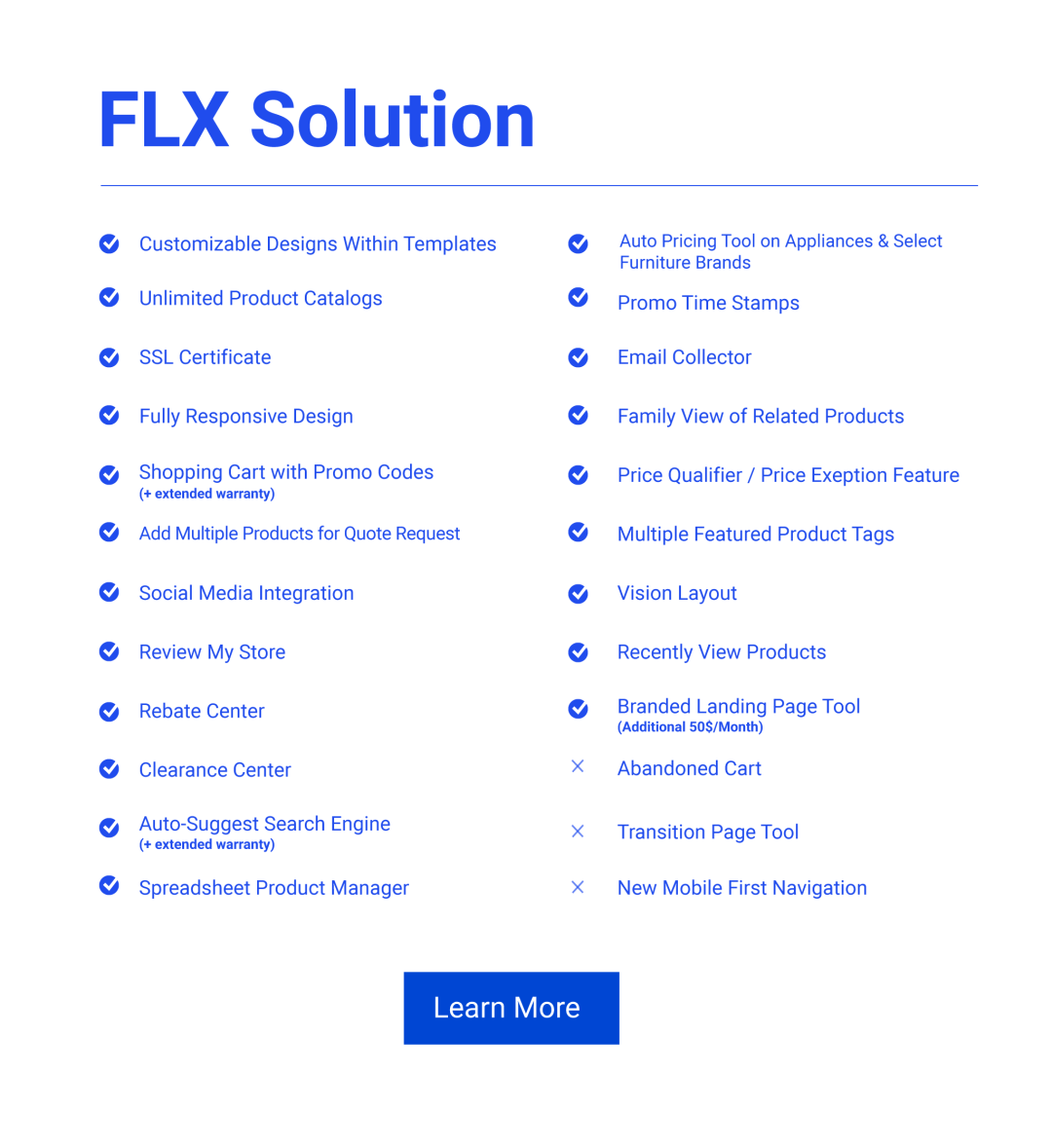 Solutions Web FLX