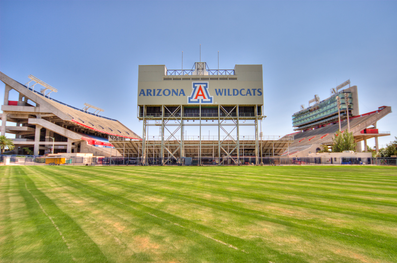 The University Of Arizona Football Stadium