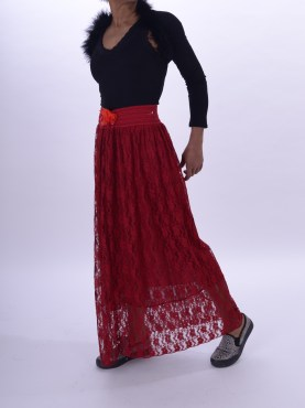 Jupe longue taille 34