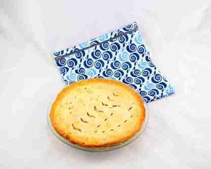Sac congélation 11x11 - pommes bleues avec pâté